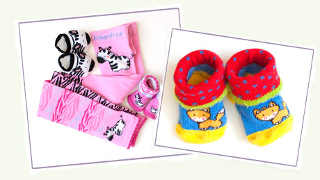 United Legwear and Fisher Price Luv U Zoo Collection