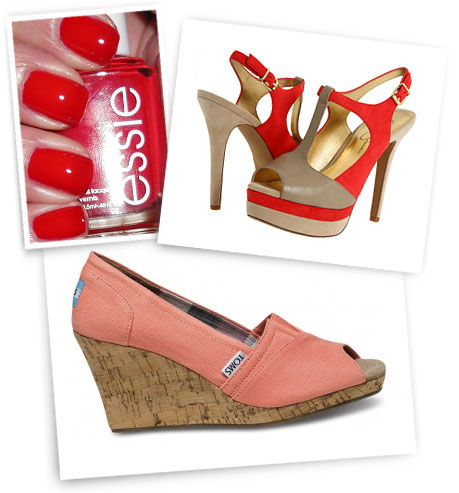 Good Reef: Jessica Simpson; Toms.