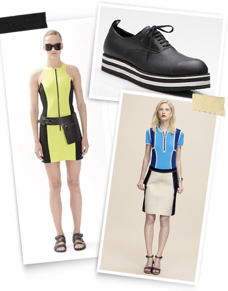 Take the Plunge: Michael Kors; Commes des Garcons; Derek Lam.