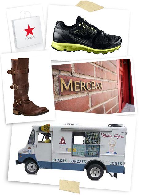 Fiorentini + Baker; Macy's; Vera Wang; Nike; Zappos.