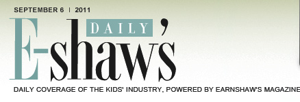 E-shaw's Daily - Daily Coverage of the Kids' Industry, Powered By Earnshaw's Magazine