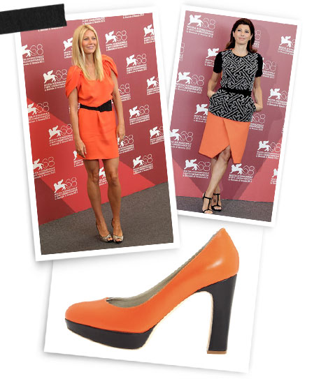 Orange County: Gwyneth Paltrow; Marisa Tomei; Jil Sander.