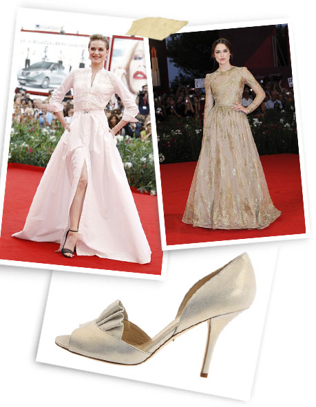 The Princess Diaries: Evan Rachel Wood; Keira Knightley; Kate Spade.