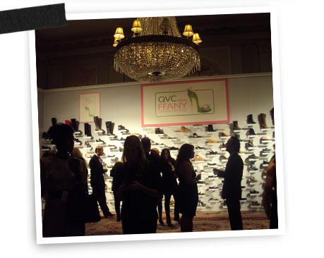 QVC Presents FFANY Shoes On Sale gala