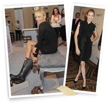 Left to right: Nicole Richie; Kelly Rutherford.