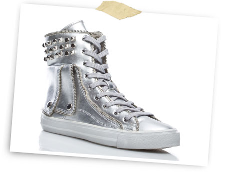 'Shine' sneaker.