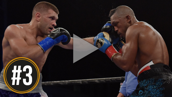 Derevyanchenko vs Johnson Full Fight: August 25, 2017