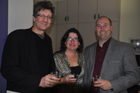 (l to r) Richard Jefferies, Lynn Huges, Kurt Ubersax at the ELF-MAN screening