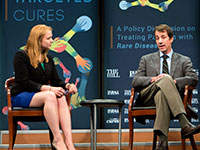 """Dr. Austin participates in panel discussion at """"Targeted Cures"""" event."""