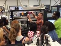 Tour of NCATS lab
