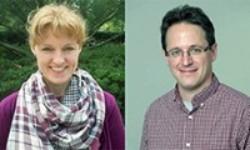 Portraits of Drs. Bobbie Ann Austin and Eugen Buehler
