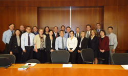 Members of the collaborative Niemann-Pick type C1 project team