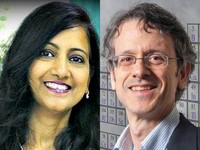 Portraits of Drs. Gopal-Srivastava and Inglese