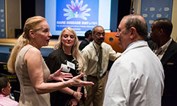 Participants at the 2016 Rare Disease Day at NIH event