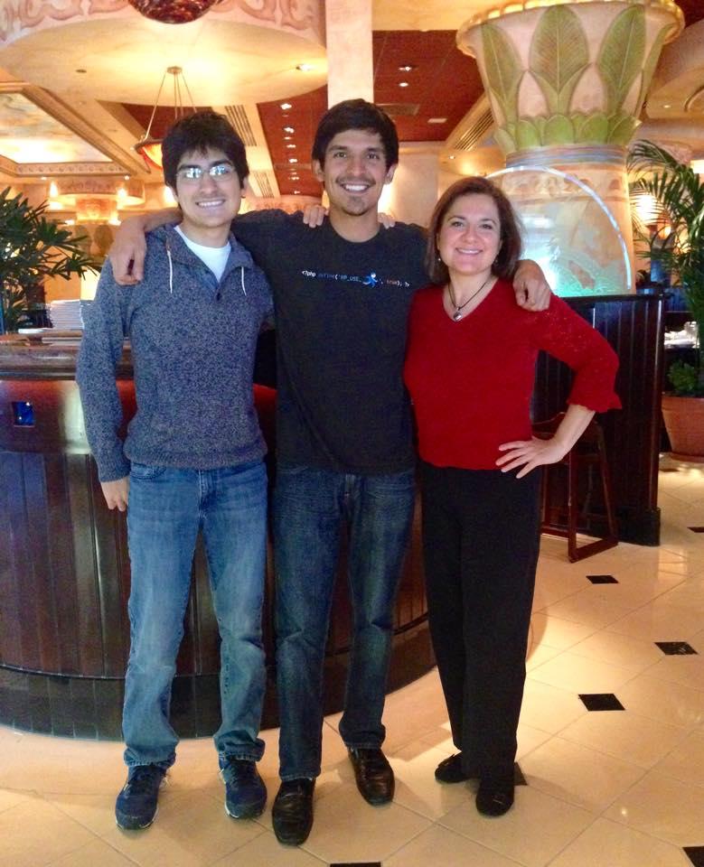 Jennifer, Jordan and Jonathan Navarrete Health Fitness Beauty Quest plus bike tourism