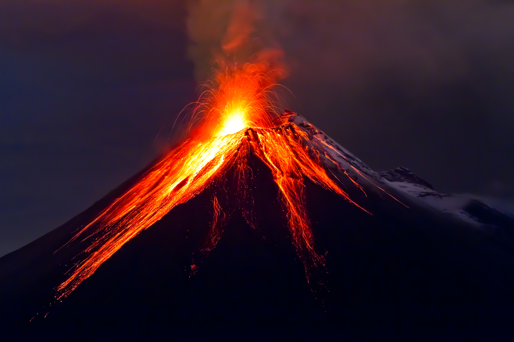 volcano of sexual energy