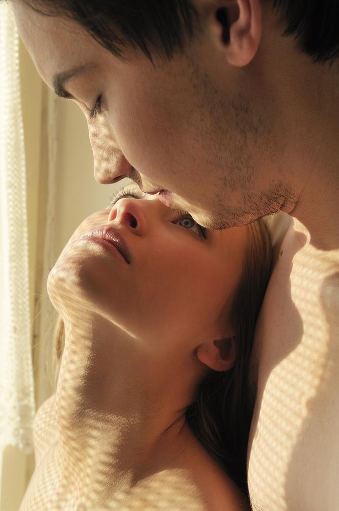 Man orally loving woman