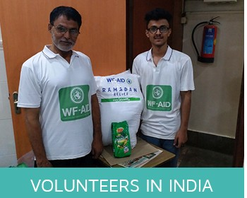 Volunteers in India