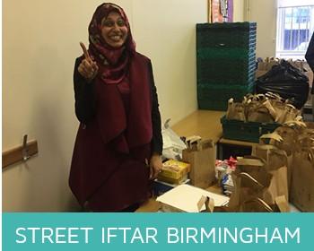 Street iftar Birmigham