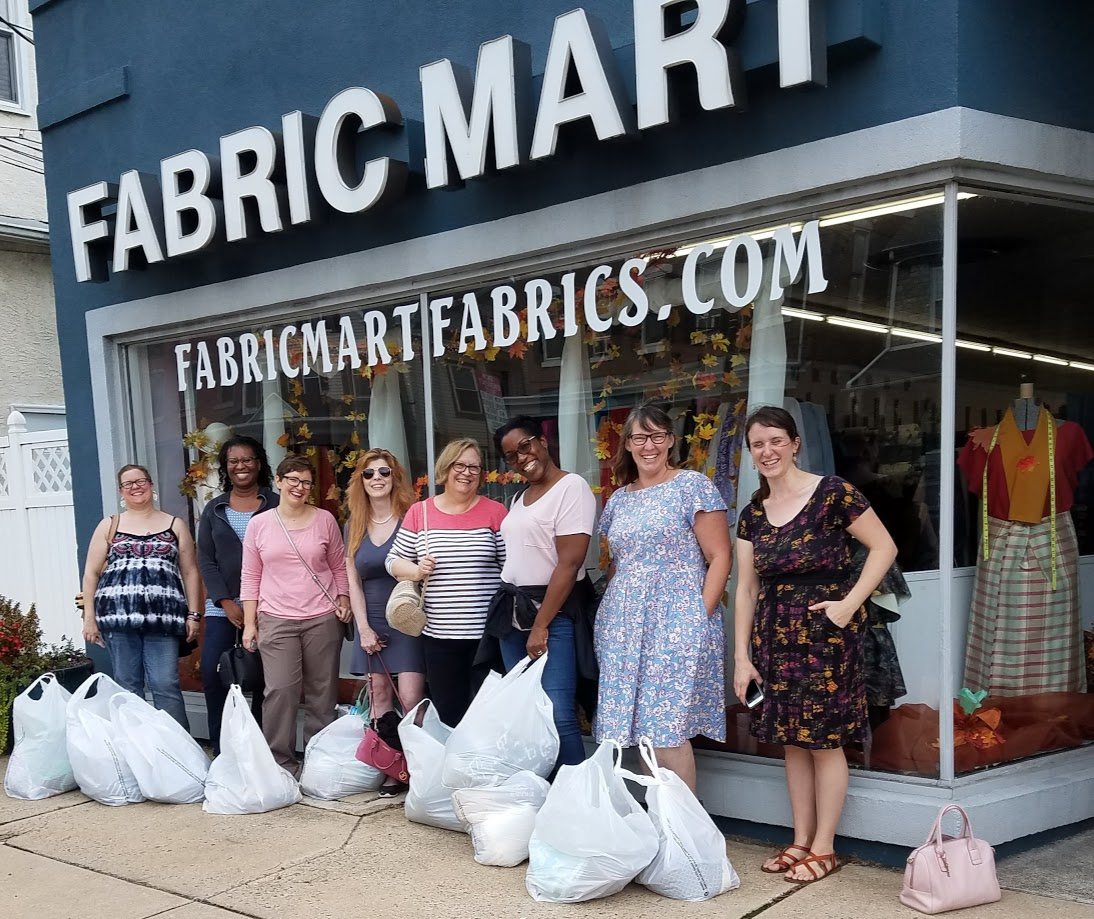 Sew Camp Sewists at Fabric Mart