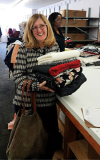 Bernice at FabricMart