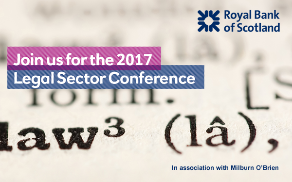 RBS - Join us for the 2017 Legal Sector Conference