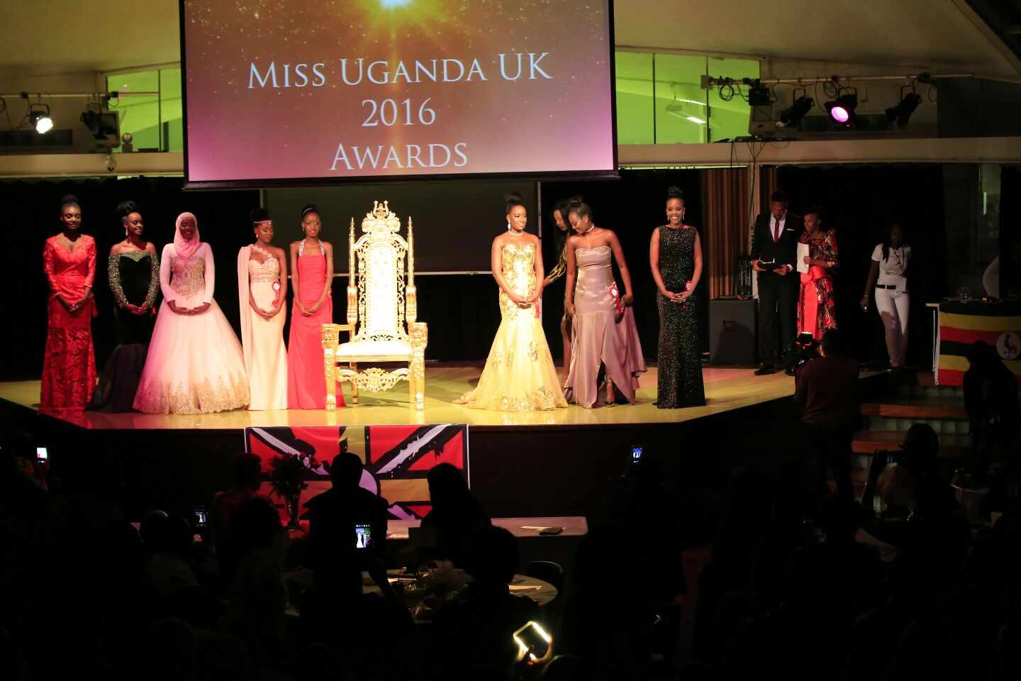 MISS UGANDA - UK 2016 AWARDS
