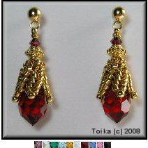 Swarovski Crystal Drop Earrings 1
