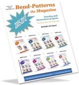 Bead-Patterns the Magazine - 42 Issues from 2005 to 2012 (Download - PDF or Mail on CD)