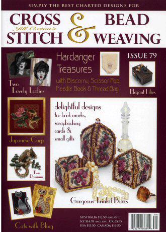 Jill Oxton's Cross Stitch & Bead Weaving Magazine