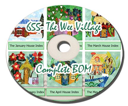 655 - Wee Village Complete BOM CD