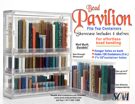 20% off Bead Pavilion - Showcase & 4 Shelves
