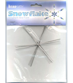 Snowflake Ornament Forms 4-1/2""