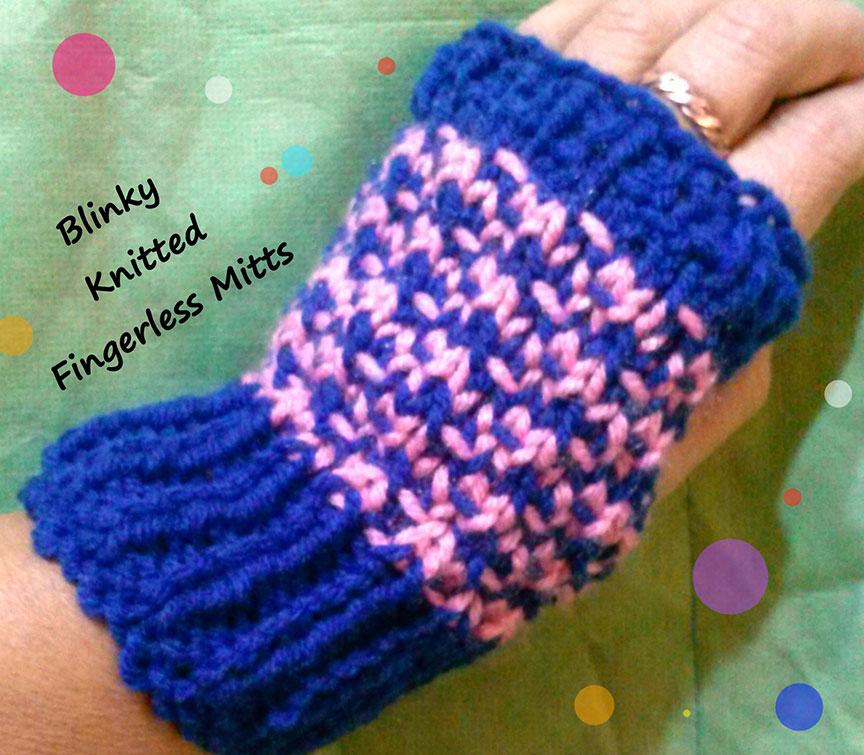 Knitting Pattern - Periwinkle Poncho
