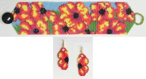 Maru Bracelet and Earrings