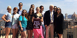TAMU Students in Italy