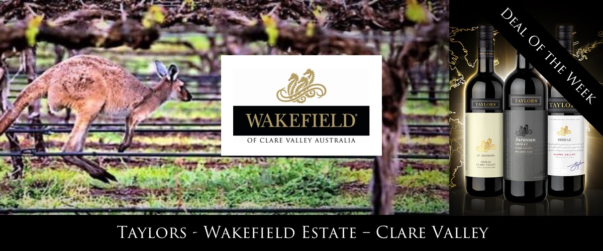 Wakefield Estate wines special offer