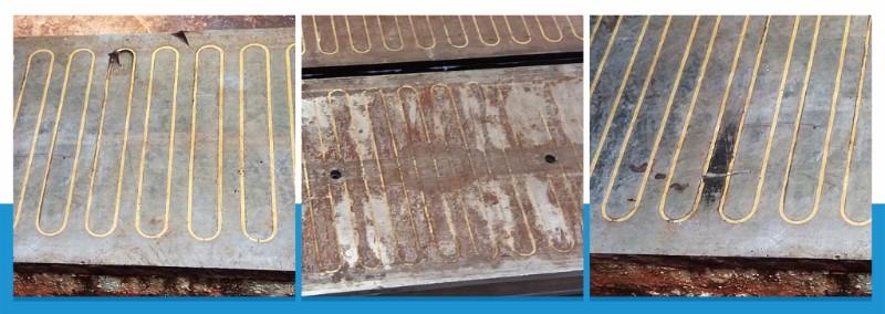 Starý poškozený elektromagnet