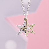 Superstar Duo Gold & Silver necklace