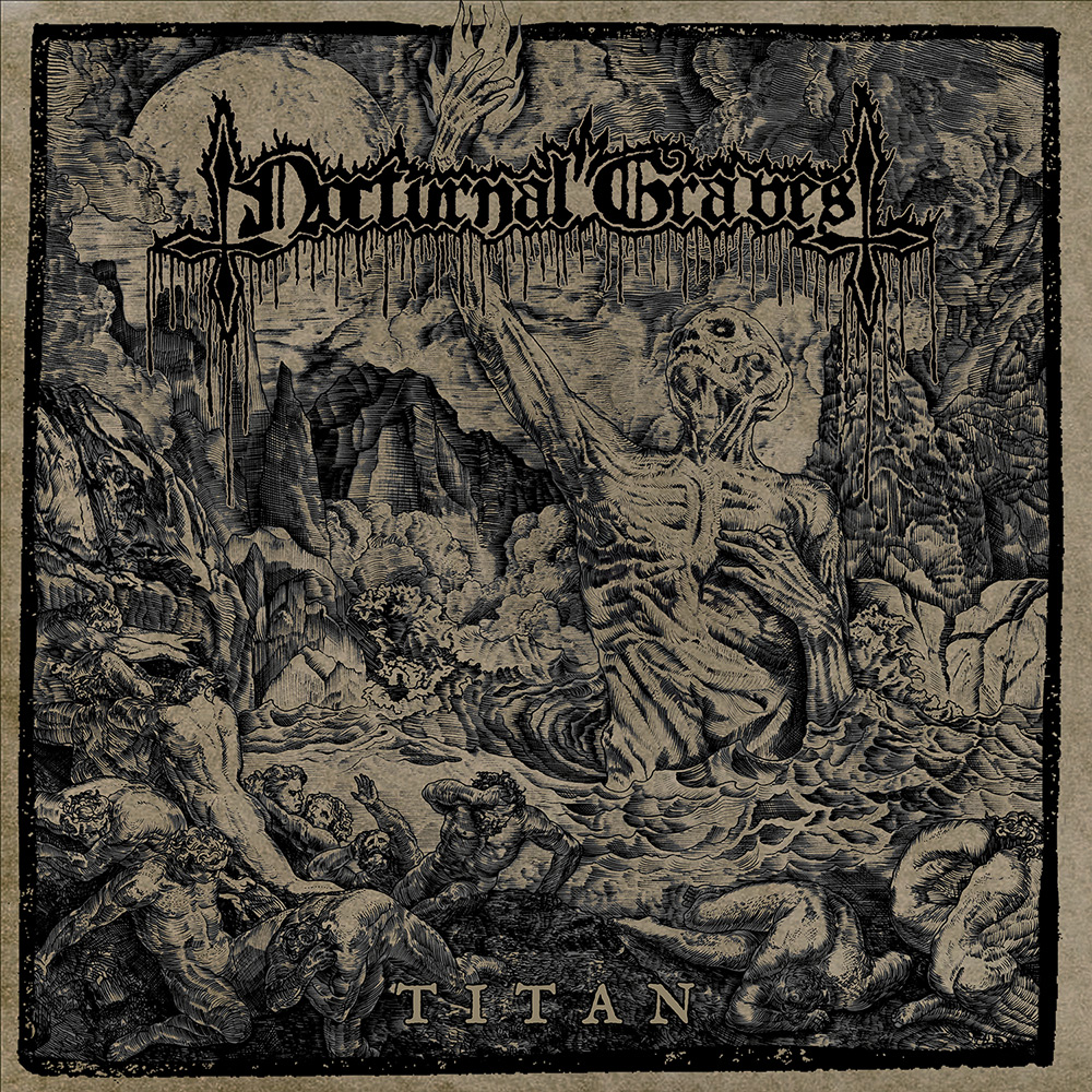 NOCTURNAL GRAVES album cover 'Titan'