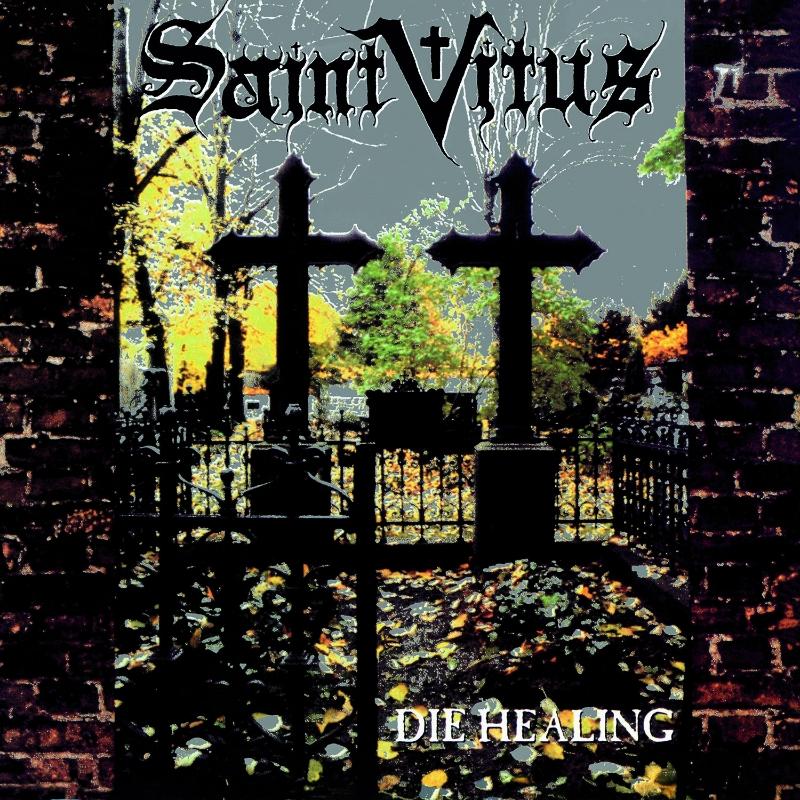 """SAINT VITUS """"Die Healing"""" album cover"""