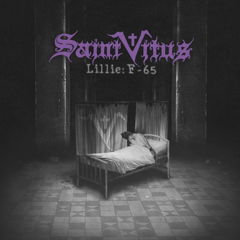 """SAINT VITUS """"Lillie: F-65"""" album cover"""