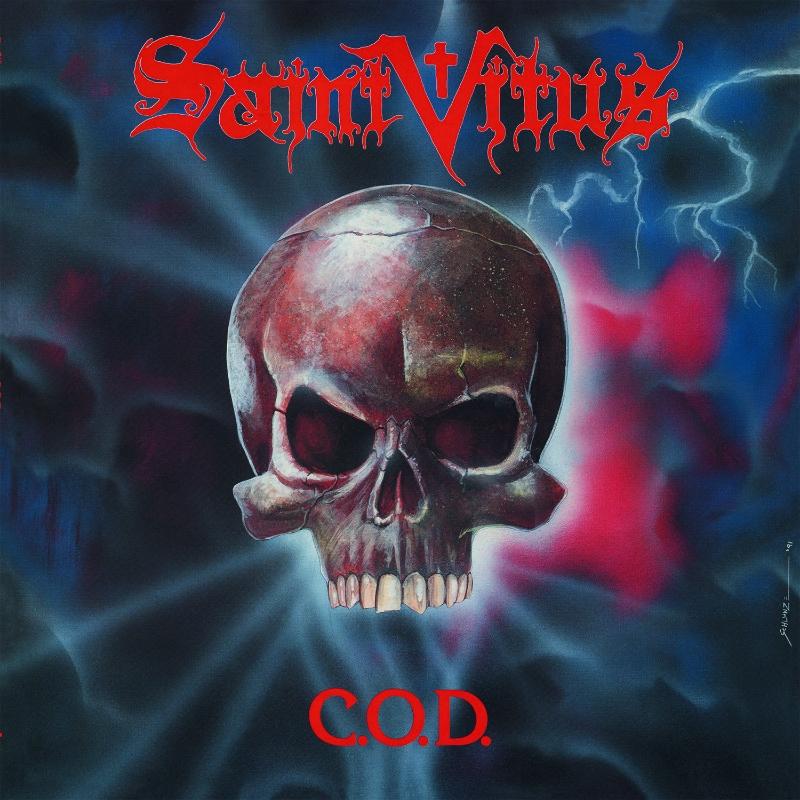 """SAINT VITUS """"C.O.D."""" album cover"""