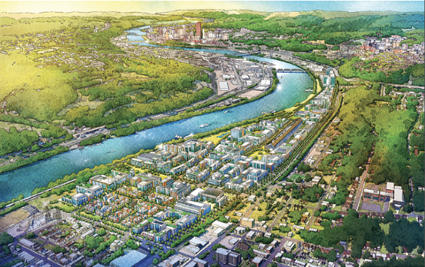 Hazelwood Green in Pittsburgh will be a net-zero energy development - RMI