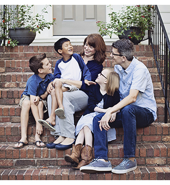 Picture of the Seabolt family