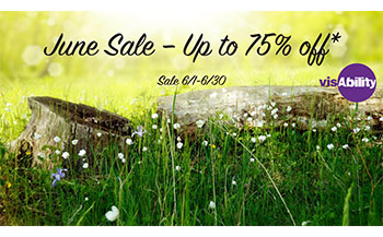 Picture of flyer with June Sale