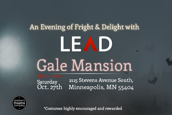 Save the date for an Evening of Fright and Delight with LEAD