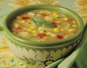 Summer Corn & Vegetable Soup