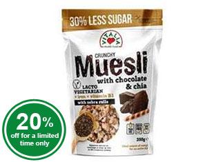 Muesli Crunchy Chocolate Chia