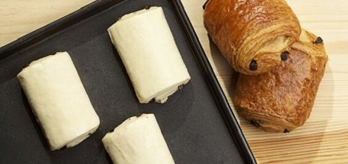 Ready-to-bake Chocolate Croissant